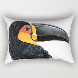 Channel-billed Toucan Rectangular Pillow