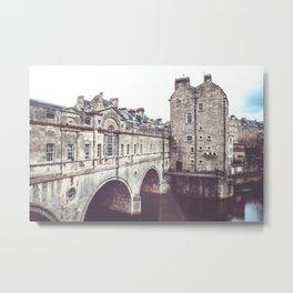Pulteney Bridge Metal Print