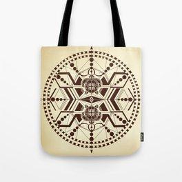 Tribal turtle Mandala Tote Bag