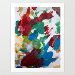 Abstrato SKL Art Print