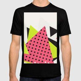 Jacksonville 1988 Memphis Throwback Retro 1990s 80s Trendy Hipster Pattern Neon Polka Dot T-shirt