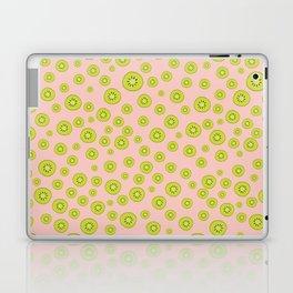 Kiwi Polka Dot Pattern Laptop & iPad Skin