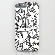 Abstraction Partial Grid iPhone 6s Slim Case