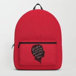 Words of wisdom Backpack