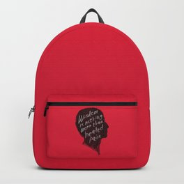 Words of wisdom Backpack