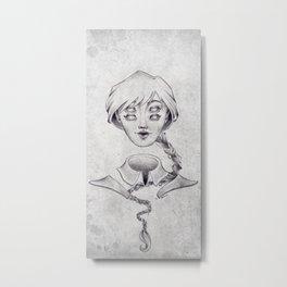 Pretty Strange Metal Print