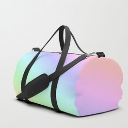 Pastel rainbow Duffle Bag