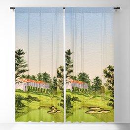 Olympic Golf Club 18th Hole Blackout Curtain