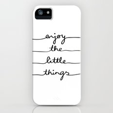 Little Things Slim Case iPhone (5, 5s)