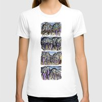 cities T-shirts featuring Cities by Kimmo Rantalainen