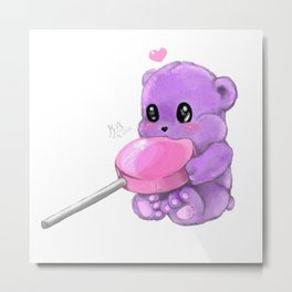Mr. Nom Noms Metal Print