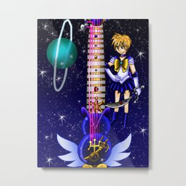 Sailor Moon Guitar #8 - Sailor Uranus (Haruka Tenoh) Metal Print