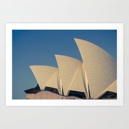 Sydney Opera House V Art Print