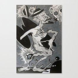 Hobo Wizard: Transcendence, Hobo Wizard series. Canvas Print