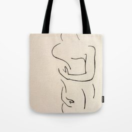 Two to One Tote Bag