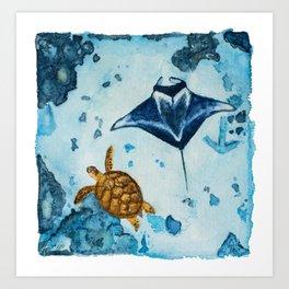 Anchor Bommie Art Print