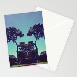 ink blot tree  Stationery Cards