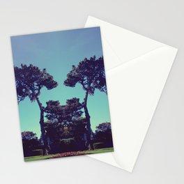 ink blot tree  Stationery Cards