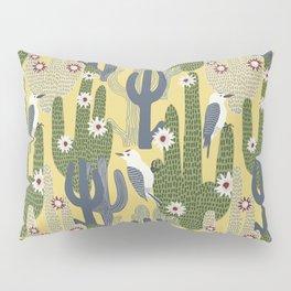 Cactus Wrens Pillow Sham