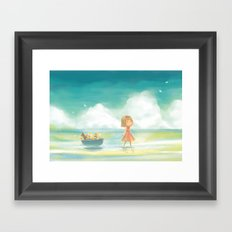 Afloat Framed Art Print