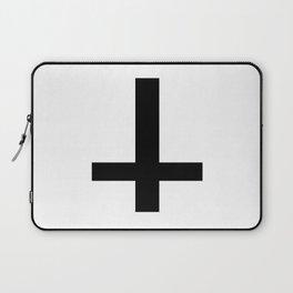 Satanic Cross Laptop Sleeve