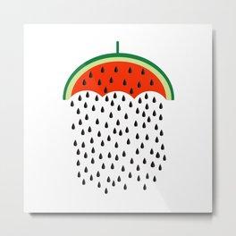 raining seed Metal Print