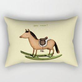 Rocking Horse Rectangular Pillow