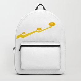 Bitcoin Price Going Up Backpack