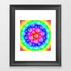 Water Rainbow Framed Art Print