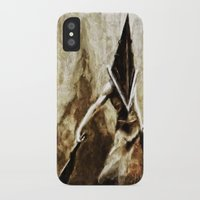 silent hill iPhone & iPod Cases featuring Silent Hill Pyramid Head by Joe Misrasi