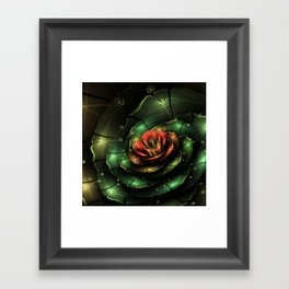 Breathe - Abstract Fractal Artwork Framed Art Print