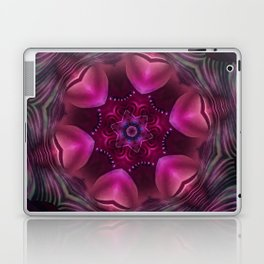 Hearts (from a pink, carnival decoration) Laptop & iPad Skin