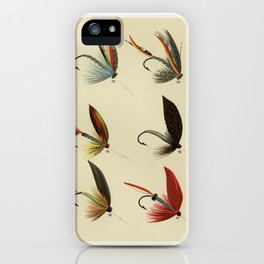 Lake Flies from Favorite Flies and Their Histories by Mary Orvis Marbury 3 iPhone Case