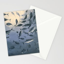 School of Fish 2 Stationery Cards