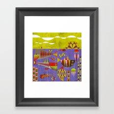 Paul Marine Framed Art Print