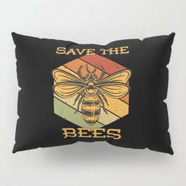 Save The Bees Pillow Sham