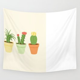 Cactus Garden Wall Tapestry