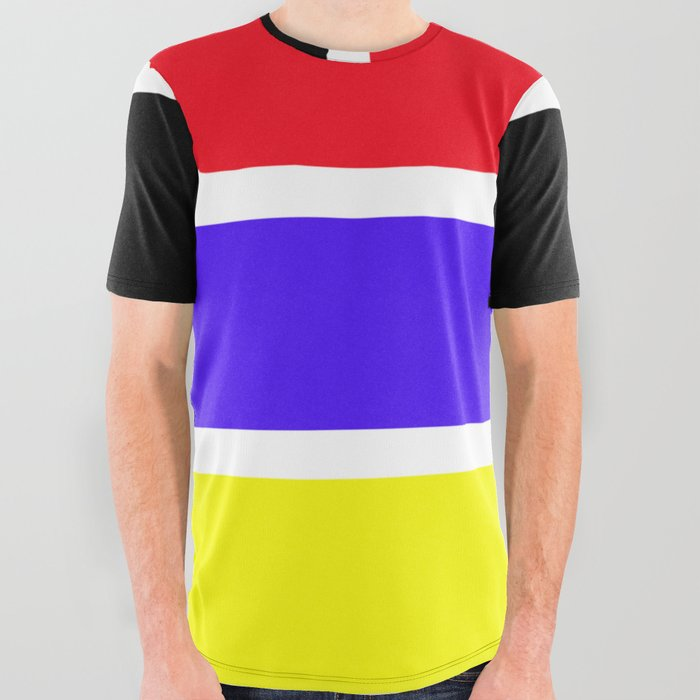 Stripes_with_color_All_Over_Graphic_Tee_by_KarlHeinz_LA_14_pke__Small