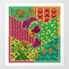 Tile 3 Art Print
