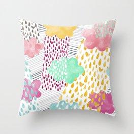 It's raining Love! Throw Pillow