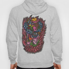 Red Feather Hoody