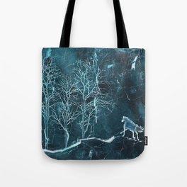 Marble Scenery Tote Bag