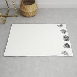 Just A Phase | Lunar Moon Phases Rug