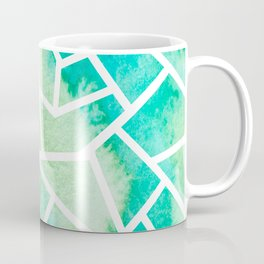Mosaic Tile - Turquoise Waters Coffee Mug