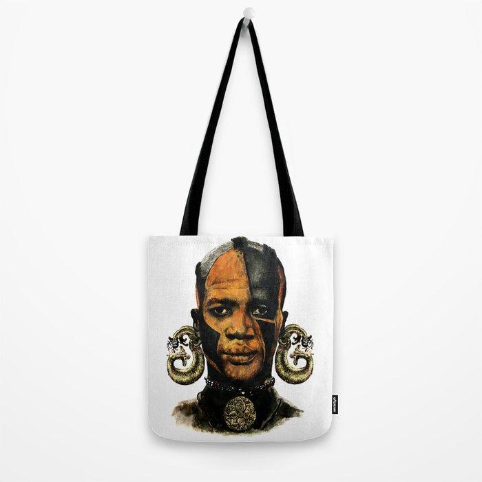 Man AFRICAN Tote Bag