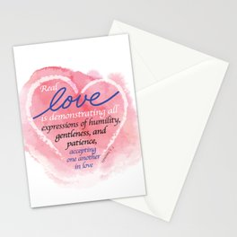Real Love Stationery Cards