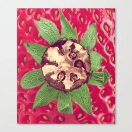 Strawberry Fields 4Ever Canvas Print