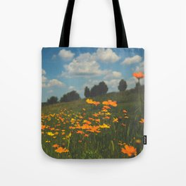 Dreaming in a Summer Field Tote Bag