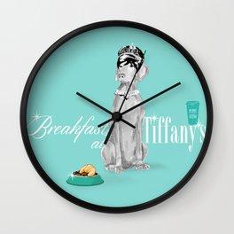 BREAKFAST AT TIFFANY'S WEIM Wall Clock