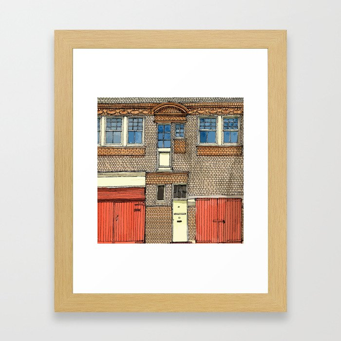 MEWS1 Framed Art Print